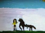 Reiterin-mit-Pferd