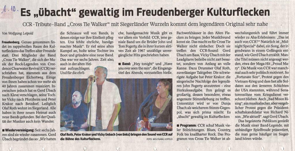 "Es ""übacht"" gewaltig im Freudenberger KulturFlekcne"