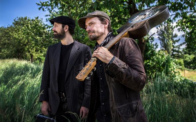 "Tim Lothar und Holger ""HoBo"" Daub  -  bluesfolks.de"